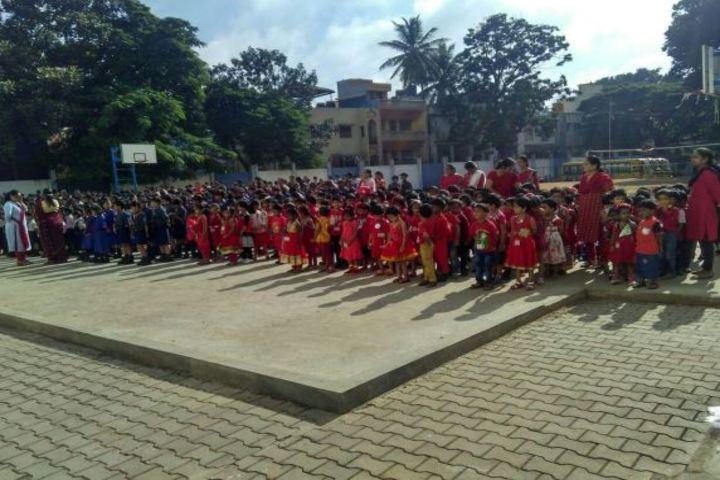 Rashtreeya Vidyalaya Public School-Red Day Celebrations