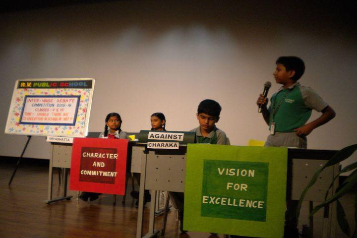 Rashtreeya Vidyalaya Public School-Debate