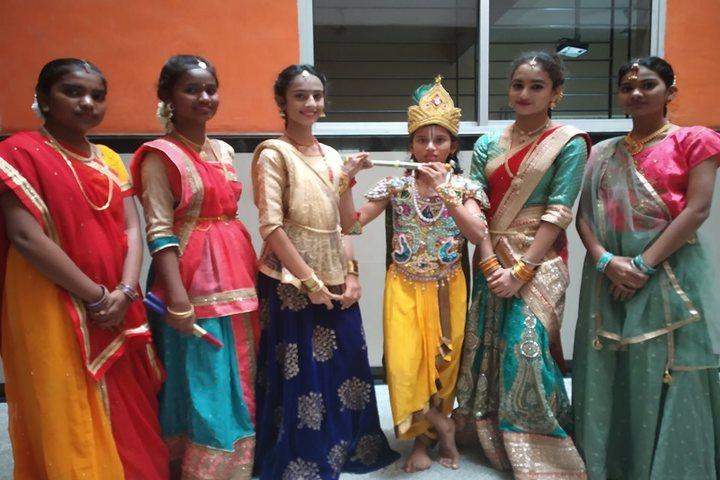 Rashtreeya Vidyalaya Public School-Janamastami Celebrations