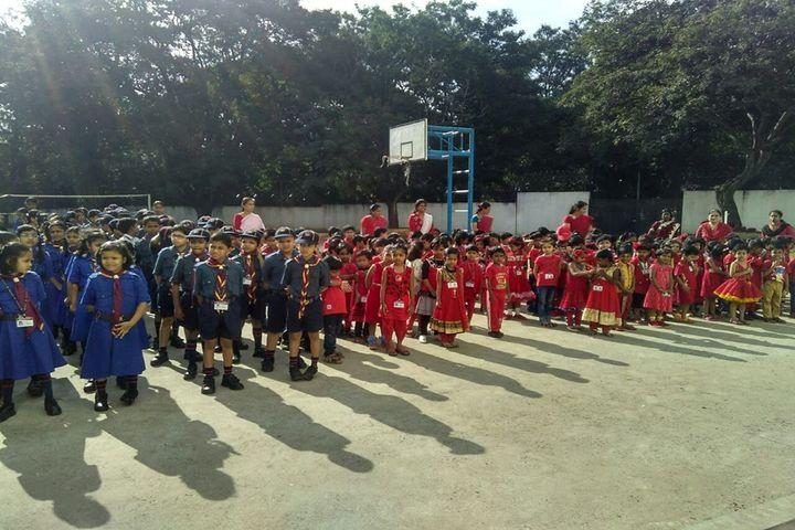 Rashtreeya Vidyalaya Public School-Scouts and Guide