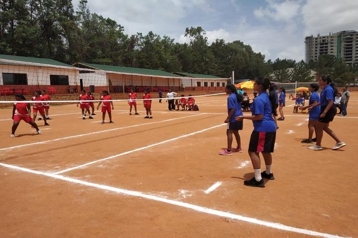 Vidyashilp Academy-Volly Ball Court