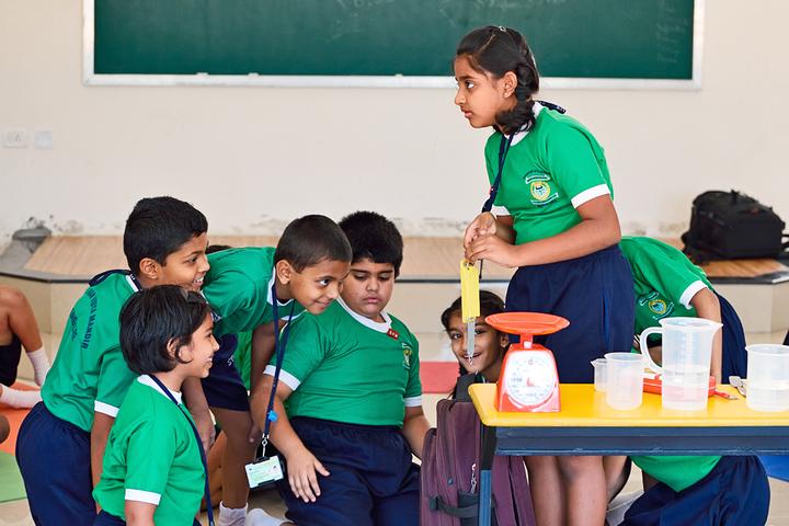 The Sudarshan Vidya Mandir-Physics Experiment