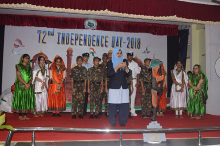Green Valley National School-Independence Day