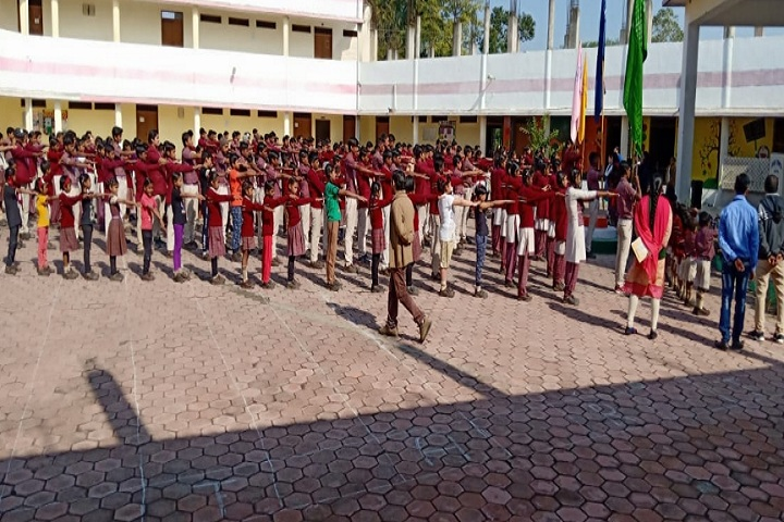 DAV Mukhyamantri Public School-Morning Assembly
