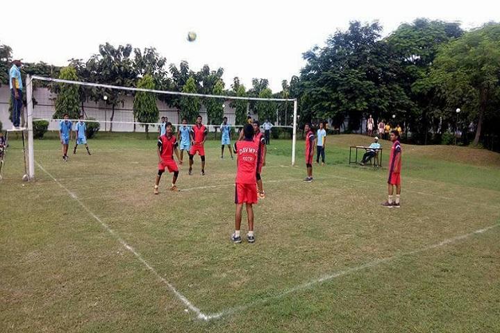 DAV Mukhyamantri Public School-Volley Ball
