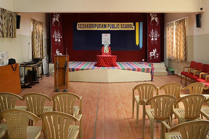 Seshadripuram Public School-Auditorium