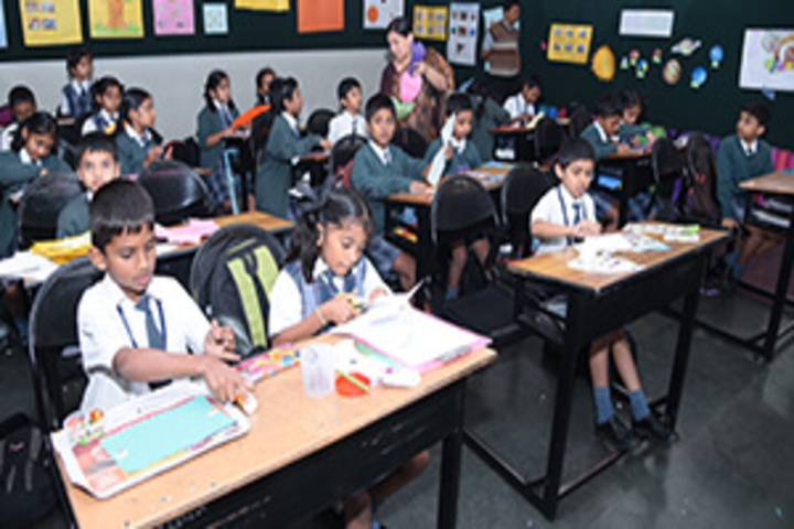 Seshadripuram Public School-Classroom