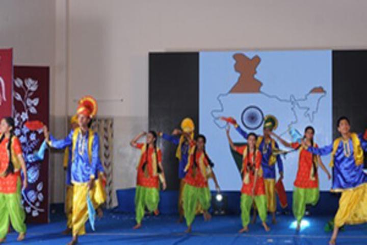 Seshadripuram Public School-Dance