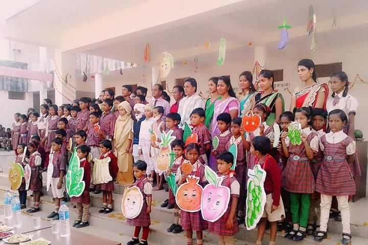 DAV Mukhyamantri Public School-Fruits Day