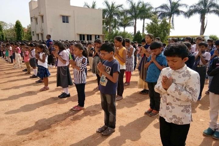 Varin International Residential School-Morning Assembly