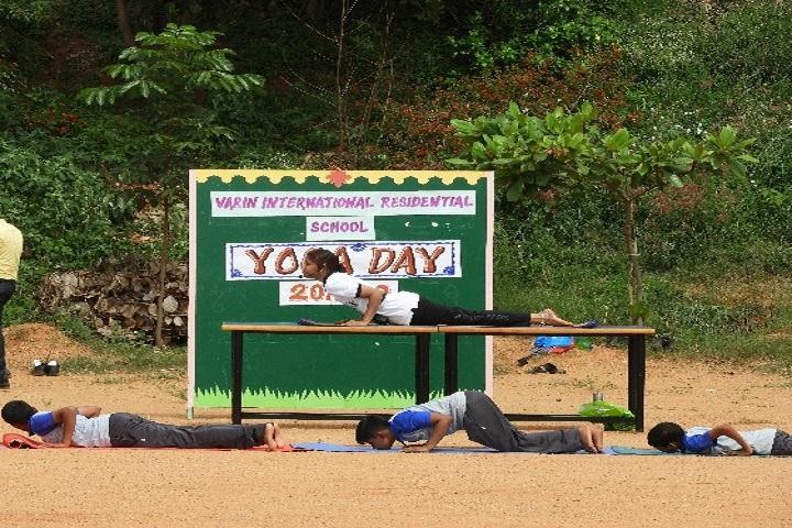 Varin International Residential School-Yoga