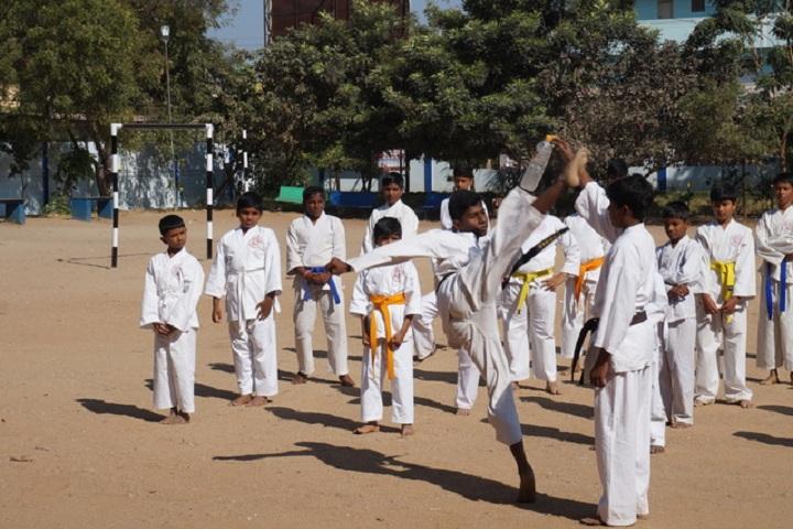Basavarajeswari Public School And College-Karate