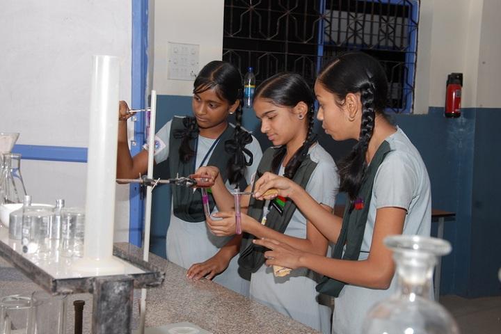 Basavarajeswari Public School And College-Chemistry Lab