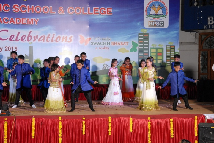 Basavarajeswari Public School And College-Dance