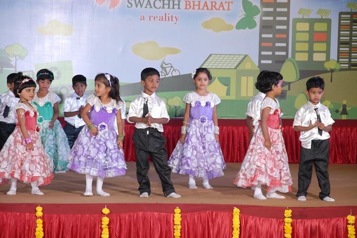 Basavarajeswari Public School And College-KG Students Dance