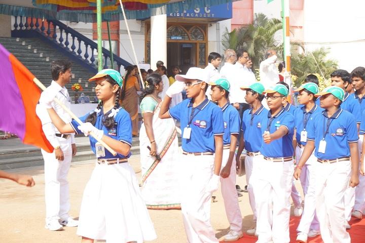 Basavarajeswari Public SchoolAnd College-Sports Day