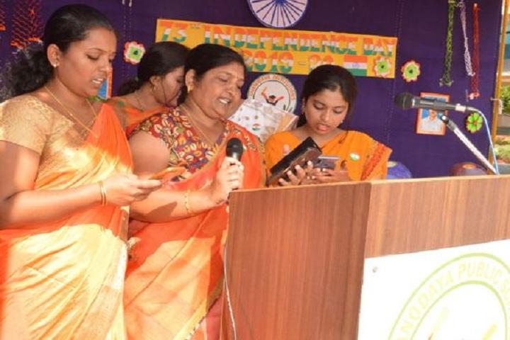 Gnanodaya Public School-Singing