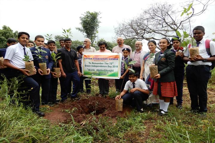 Dnyan Prabodhan Mandir-Green Independence Day