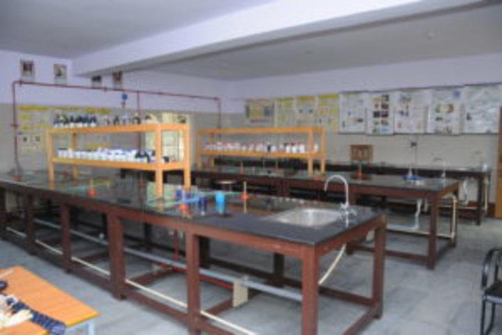 V E S Model Convent-Chemistry Lab