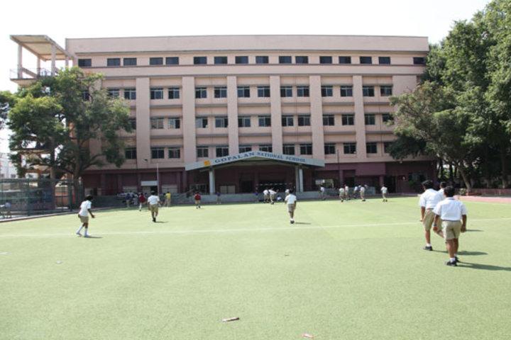 Gopalan National School-Play Ground