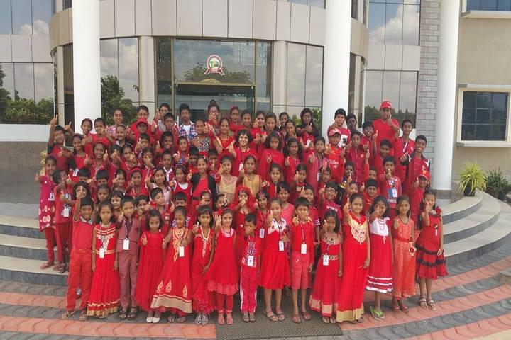 Christ International School -Red Colour Day
