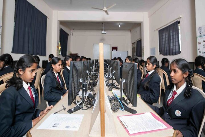 Anantha Vidyaniketana-Computer Lab