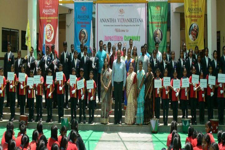 Anantha Vidyaniketana-Investiture Ceremony