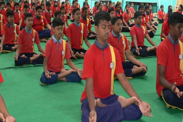 Anantha Vidyaniketana-Yoga Day