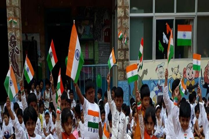 H A L Gnanajyoti School-Independence Day