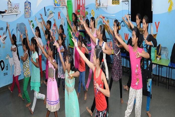 Trinity Central School-Dance Class