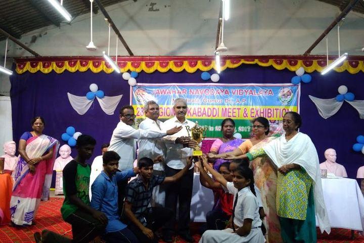 Jawahar Navodaya Vidyalaya - Award Winners