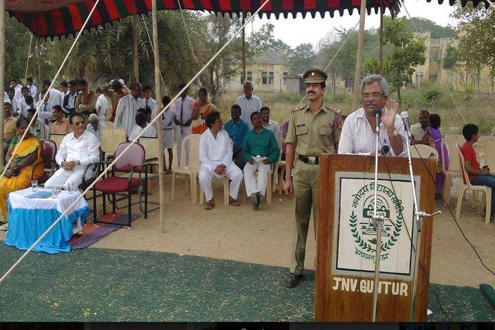 Jawahar Navodaya Vidyalaya - Investiture Ceremony