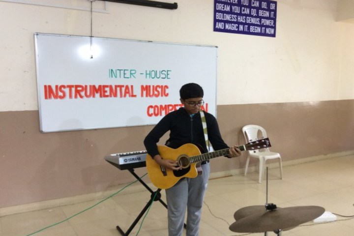 Podar International School-Music Competition
