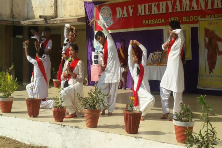 DAV Mukhyamantri Public School-Dance