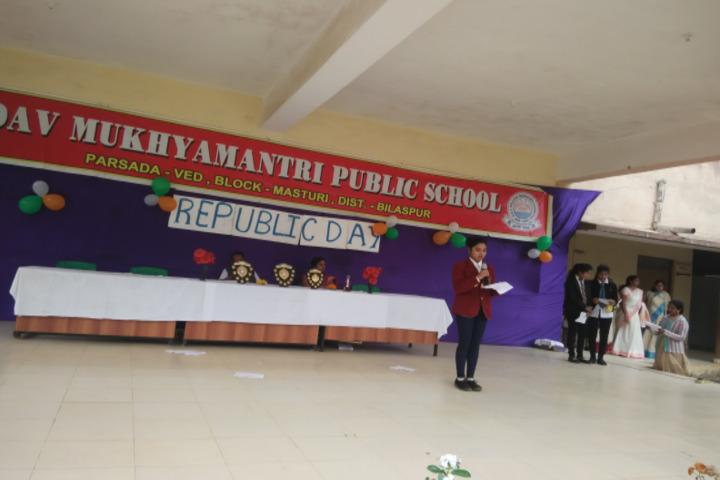 DAV Mukhyamantri Public School-Republic Day