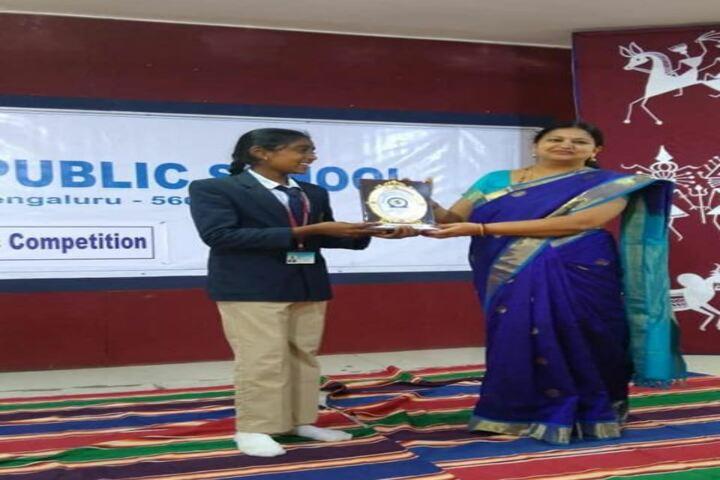 M. E. C. Public School-Felicitation