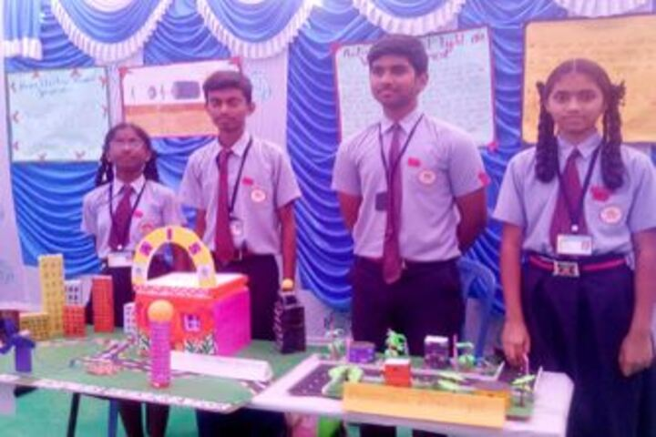 Arvind International School-Science Exhibition