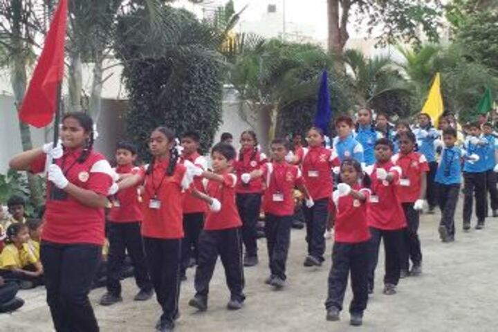 Arvind International School-Sports Day