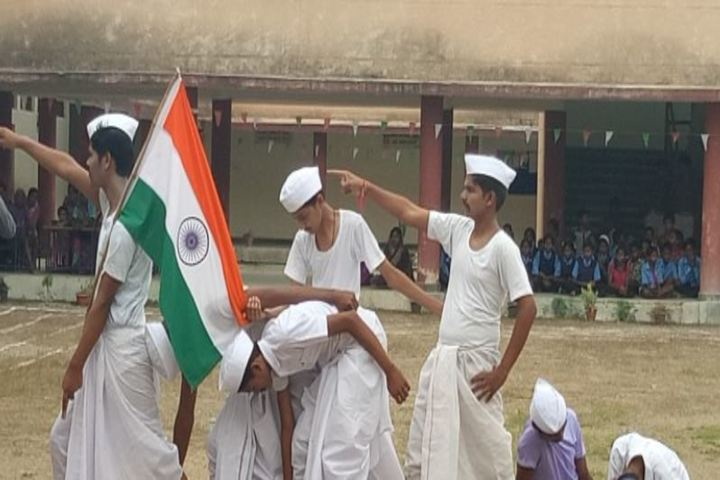 DAV Mukhyamantri Public School-Independence Day Celebration