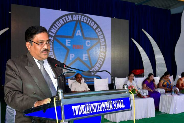Twinkle United Public School-Annual Day- Guest