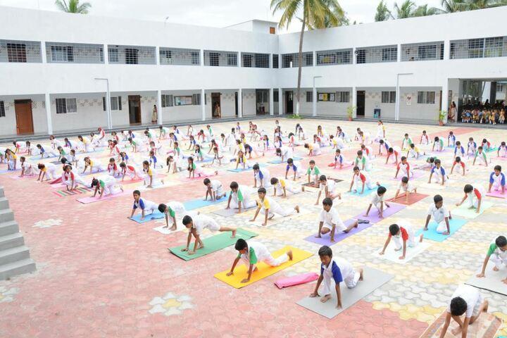 Twinkle United Public School-Yoga Classes
