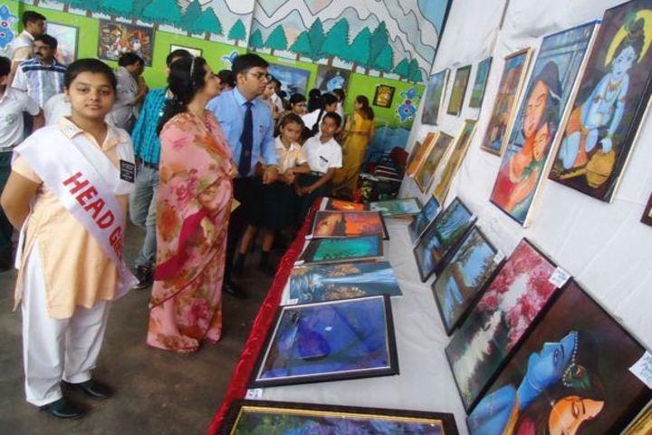 Rani Laxmibai Public School-Art and Craft Exhibition