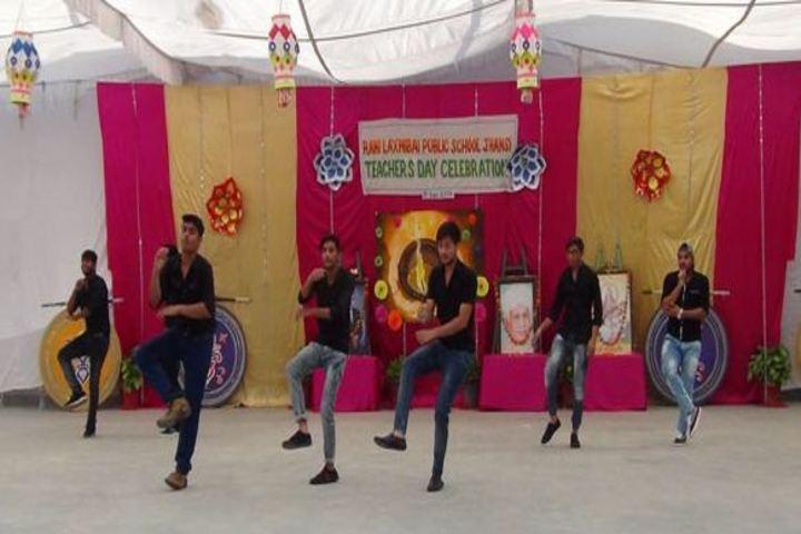 Rani Laxmibai Public School-Teachers Day Celebrations