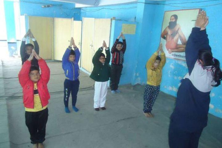 Rani Laxmibai Public School-Yoga