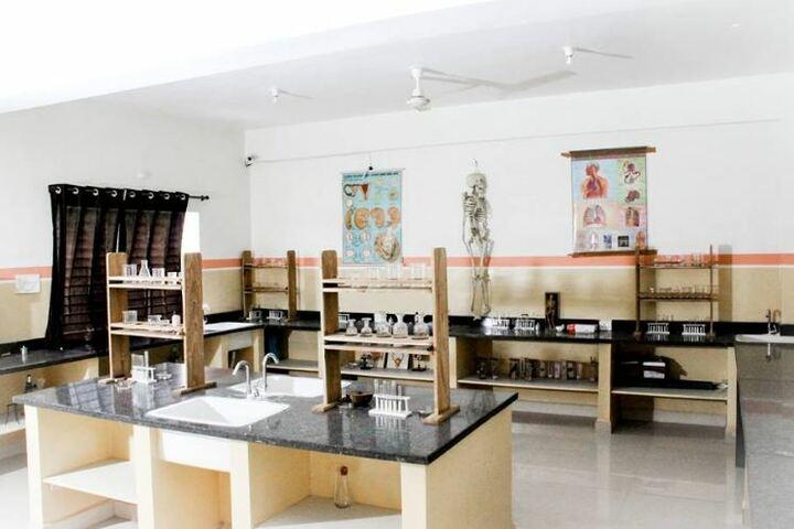 Rajeshwar Convent Higher Secondary School-Biology Lab