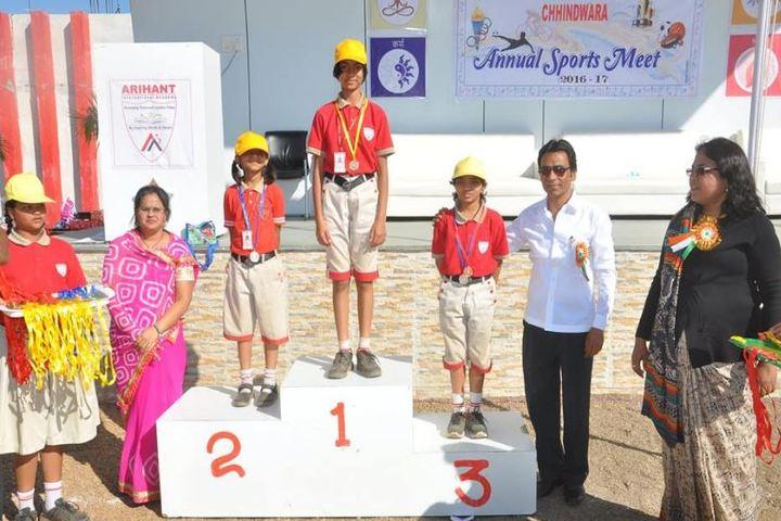 Arihant International Academy-Felicitation