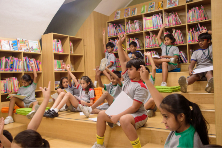 The Bombay International School-Library