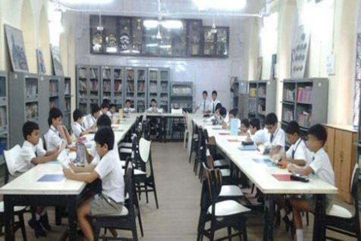 Bombay Scottish School-Library