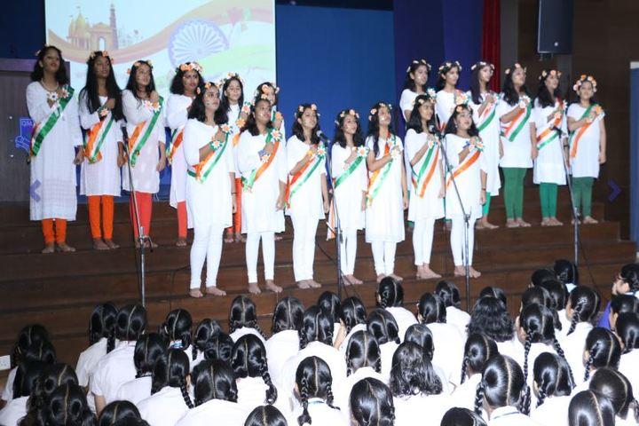 Queen Mary School-Singing