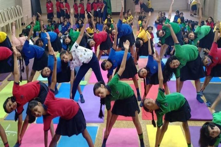 Queen Mary School-Yoga